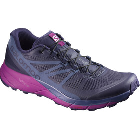 Salomon W's Sense Ride Shoes Evening Blue/Crown Blue/Grape Juice